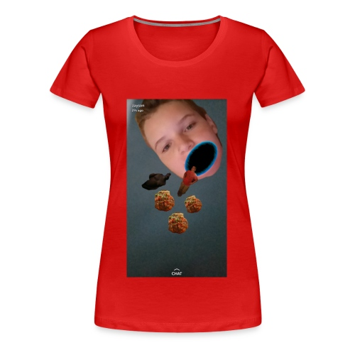 meatballeatz offical merch - Women's Premium T-Shirt