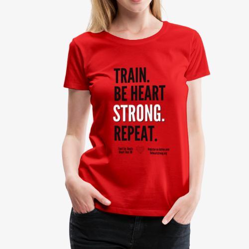 Heart Run training shirt - Women's Premium T-Shirt