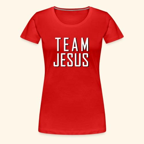 Team Jesus - Women's Premium T-Shirt