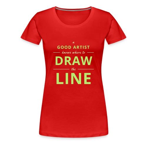 Good Artists - Women's Premium T-Shirt