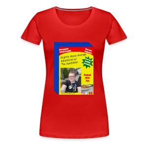 sandinkler cereal box - Women's Premium T-Shirt
