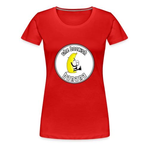 Bookish Banana Logo - Women's Premium T-Shirt