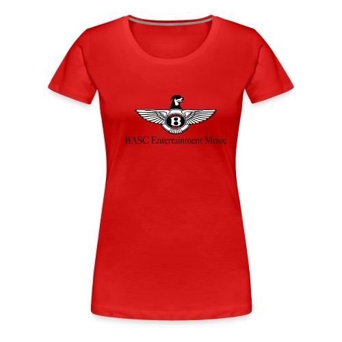 BASCentlogo15w 01 - Women's Premium T-Shirt