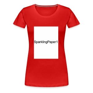 SparklingPaper1 - Women's Premium T-Shirt