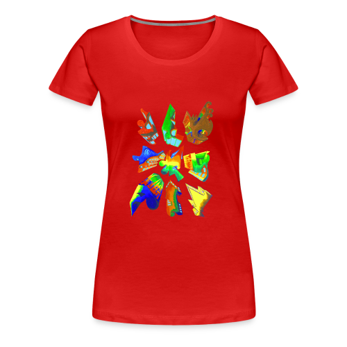 Abstract by Gumdrop - Women's Premium T-Shirt