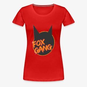 The fox gang official - Women's Premium T-Shirt