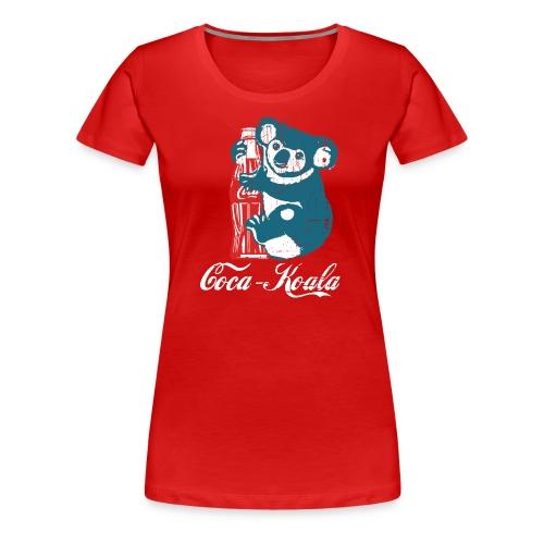 Coca-koala - Women's Premium T-Shirt