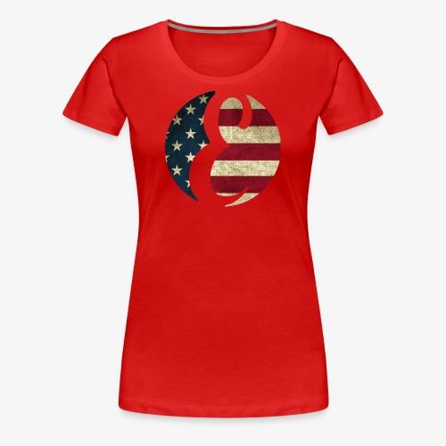 Erivipedia Logo USA old - Women's Premium T-Shirt