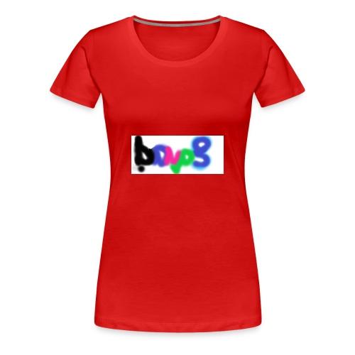 brush the haters off - Women's Premium T-Shirt
