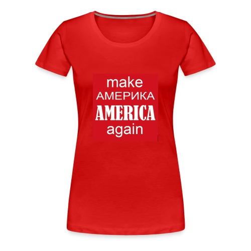 MAAA 1 - Women's Premium T-Shirt