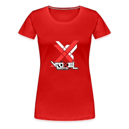 VXL Red Collection - Women's Premium T-Shirt