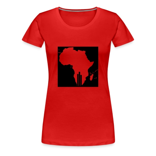 Tswa_Daar_Logo_Design - Women's Premium T-Shirt