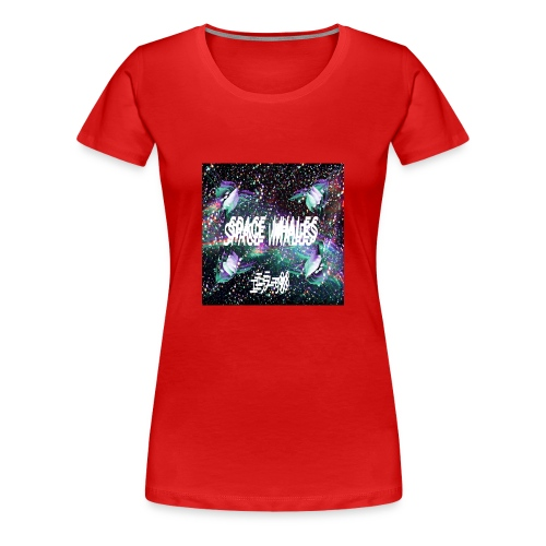 Space Whales Album Cover - Women's Premium T-Shirt