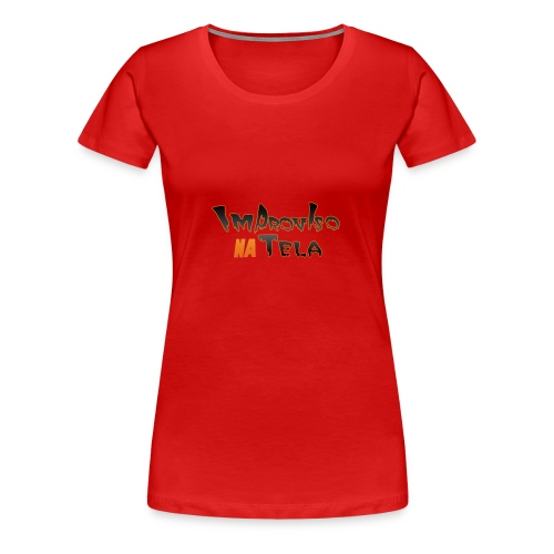 ImprovisoNaTela - Women's Premium T-Shirt