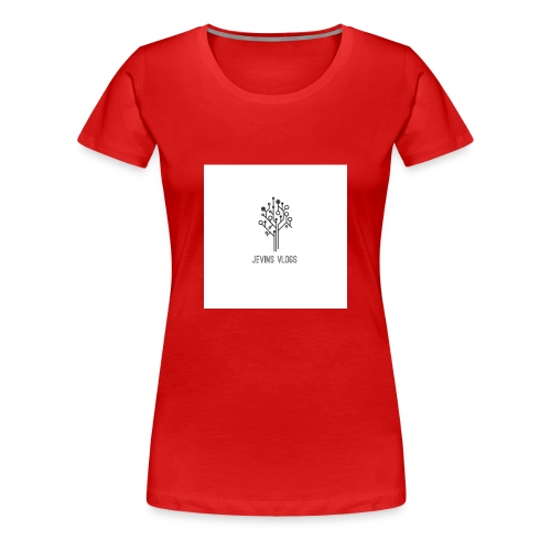 Jevins Vlogs - Women's Premium T-Shirt