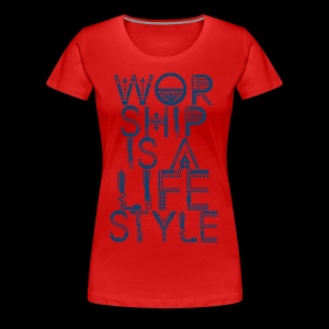WORSHIP - Women's Premium T-Shirt