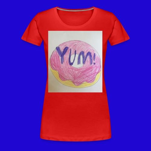 Yum! - Women's Premium T-Shirt