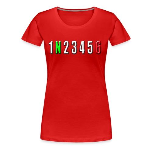 white number horizon - Women's Premium T-Shirt
