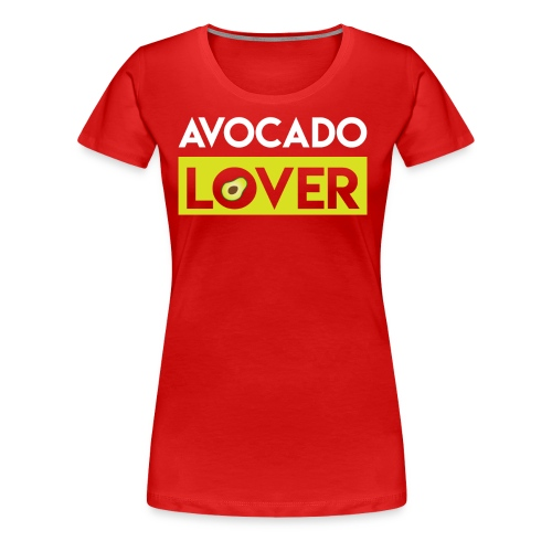 Avocado Lover - Women's Premium T-Shirt