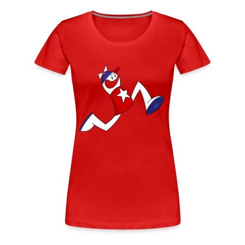Terrific Athlete - Women's Premium T-Shirt