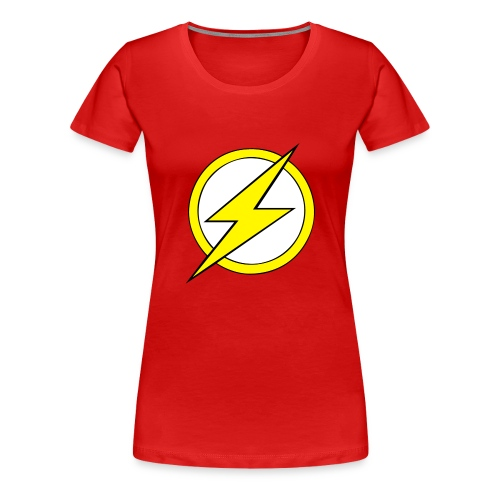 Kid Flash Logo - Second Channel - Women's Premium T-Shirt
