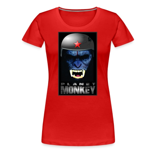 ESTAMPA PLANET MONKEY - Women's Premium T-Shirt