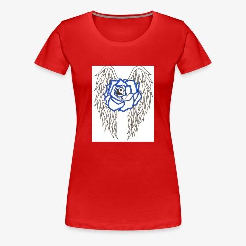 Flying rose - Women's Premium T-Shirt