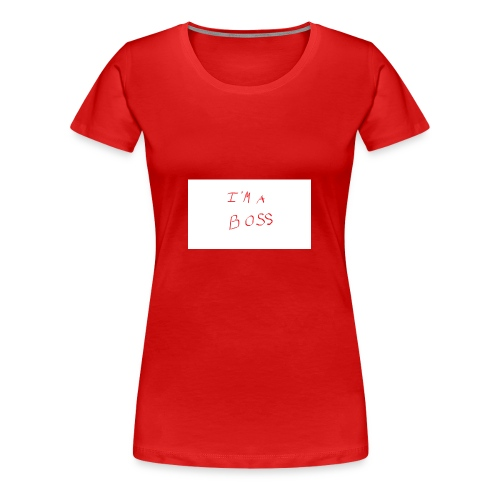 im a boss - Women's Premium T-Shirt