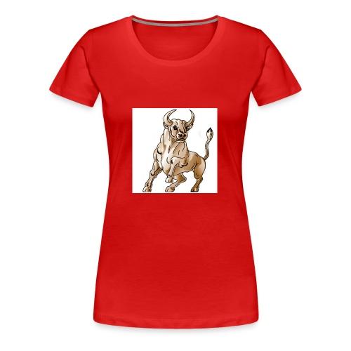 bull icon - Women's Premium T-Shirt