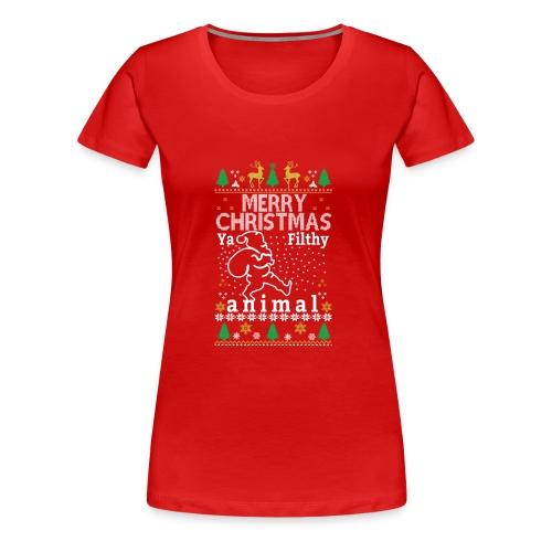 Merry Christmas from Johny ! - Women's Premium T-Shirt