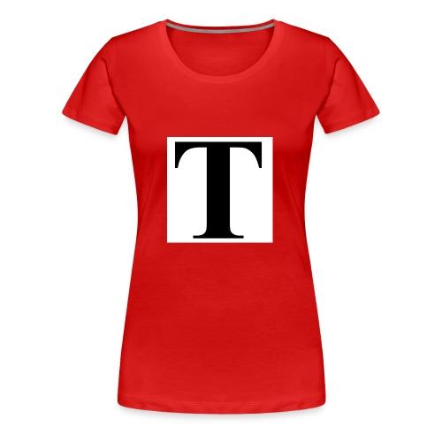 T stand for tavion - Women's Premium T-Shirt