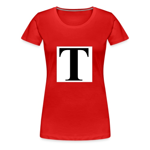T stand for tavion - Women's Premium T-Shirt