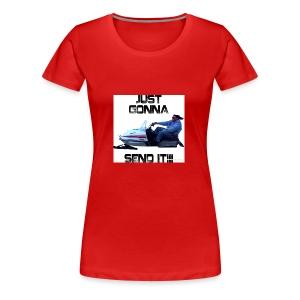 send it - Women's Premium T-Shirt