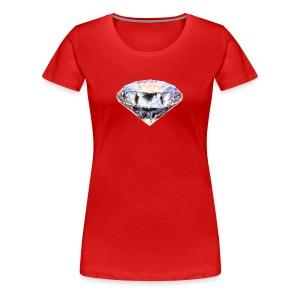 Shining like a Diamond - Women's Premium T-Shirt