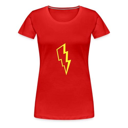 Yellow lightning - Women's Premium T-Shirt