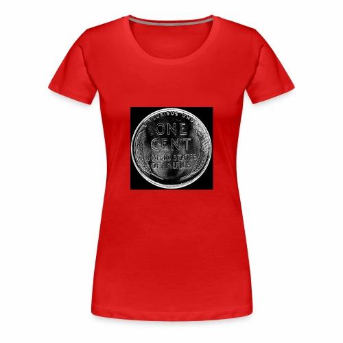 wheat back - Women's Premium T-Shirt