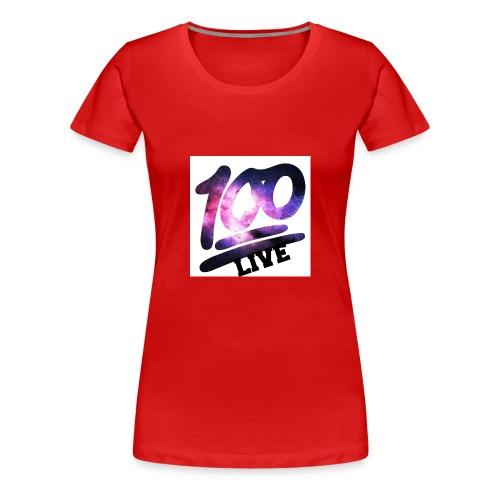 living 100 - Women's Premium T-Shirt