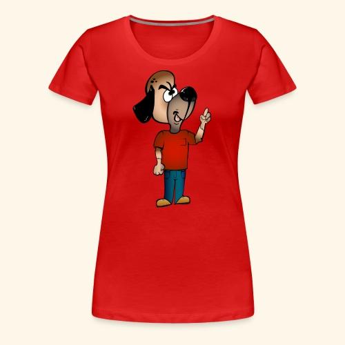 Dog Mascot - Women's Premium T-Shirt