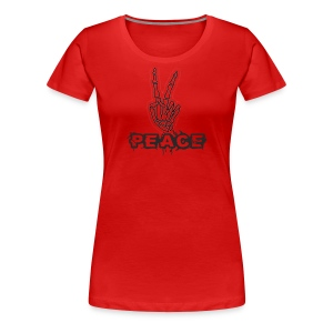 Skelly Peace - Women's Premium T-Shirt