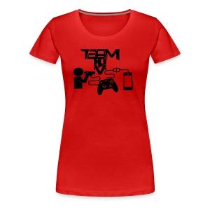 Team T.N.V Official Trade Mark Logo - Women's Premium T-Shirt