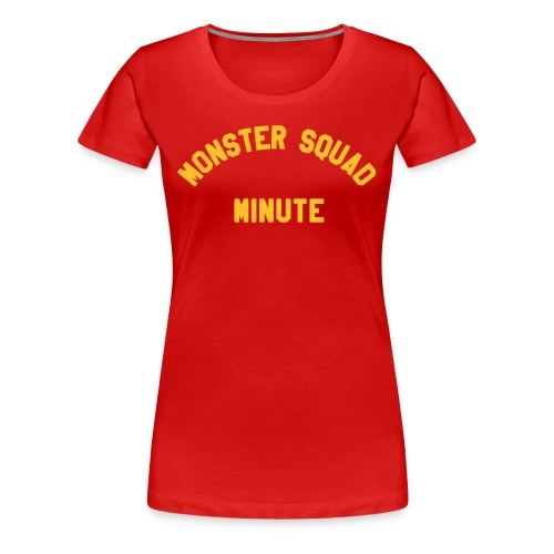 Monster Squad Minute Logo, Sean-Style - Women's Premium T-Shirt