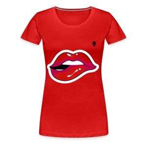 she is danger - Women's Premium T-Shirt
