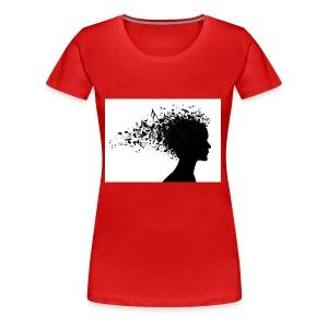 music through my head - Women's Premium T-Shirt