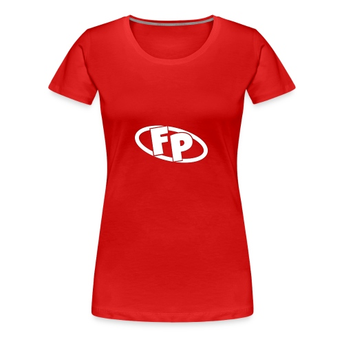 Secondary FRESHPOPCORN Logo - Women's Premium T-Shirt