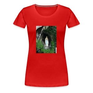 VirgendeLourdes - Women's Premium T-Shirt
