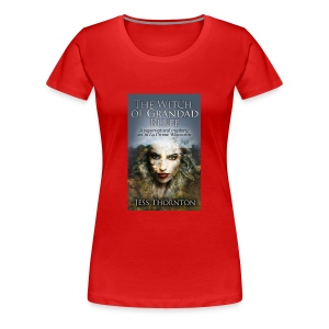 The Witch of Grandad Bluff cover - Women's Premium T-Shirt