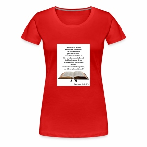 Bible Verses - Women's Premium T-Shirt