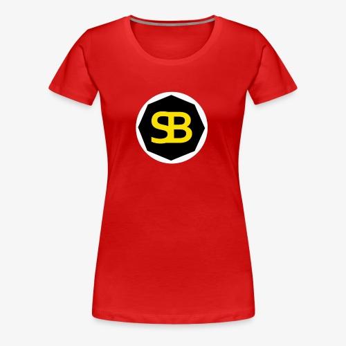 New StreamBox Logo Blk Gold - Women's Premium T-Shirt