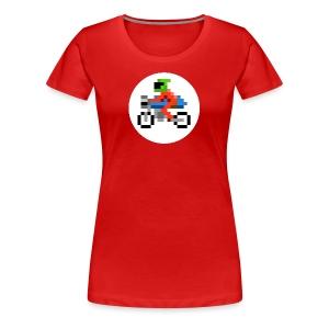 Cafe Biker - Women's Premium T-Shirt