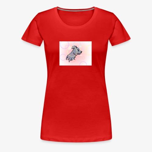 Lydia's Animated Rusty - Women's Premium T-Shirt